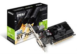 GF GT 710 1Gb DDR3 LP MSI (GT 710 1GD3 LP)