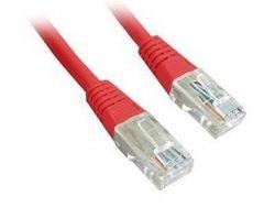 """Патч-корд UTP Cablexpert (PP12-0.5M/R) литой, 50u """"штекер с защелкой, 0.5 м, красный"""