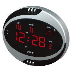 Часы настенные VST 770-Т1 Red LED+БП+ДУ