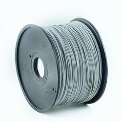 Филамент пластик Gembird (3DP-ABS1.75-01-GR) для 3D-принтера, ABS, 1.75 мм, серый, 1кг
