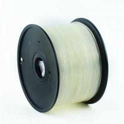 Филамент пластик Gembird (3DP-ABS1.75-01-TR) для 3D-принтера, ABS, 1.75 мм, прозрачный, 1кг