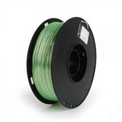 Филамент пластик Gembird (3DP-PS1.75-01-G) для 3D-принтера, Polymer Silk, 1.75 мм, зеленый, 1кг