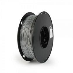 Филамент пластик Gembird (3DP-PS1.75-01-GR) для 3D-принтера, Polymer Silk, 1.75 мм, серый, 1кг