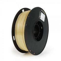 Филамент пластик Gembird (3DP-PS1.75-01-Y) для 3D-принтера, Polymer Silk, 1.75 мм, желтый, 1кг