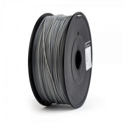 Филамент пластик Gembird (FF-3DP-ABS1.75-02-GR) для 3D-принтера, ABS, 1.75 мм, серый, 600гр