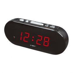Часы Vst 715-1 Red LED+БП