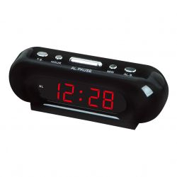 Часы Vst 716-1 Red LED