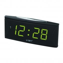 Часы Vst 719-2 Green LED