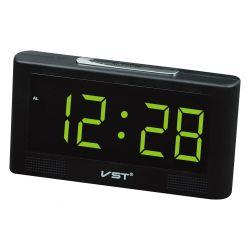 Часы Vst 732-2 Green LED