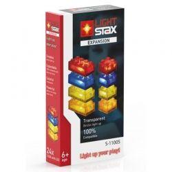 Конструктор Light Stax с LED подсветкой Expansion Transparent (LS-S11005)