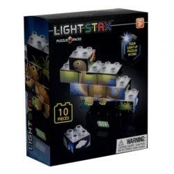 Конструктор Light Stax с LED подсветкой Puzzle Dinosaurer Edition (LS-M03004)