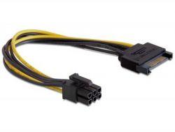 Кабель питания Cablexpert (CC-PSU-SATA) PCI Express Molex - 6pin, 0.2 м