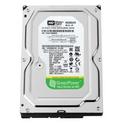 "Жесткий диск 3.5"" 250Gb Western Digital AV-GP, SATA2, 8Mb, 5400 rpm (WD2500AVVS) (Ref)"