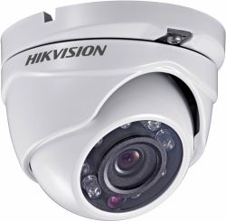 "Камера HDTVI HikVision DS-2CE56D0T-IRMF / 2.8, White/Black, 1/3"" Progressive Scan CMOS, 720p / 25 fps, f=2.8 мм, 0.01 Lux, ИК подсветка до 20 м, 340 г"