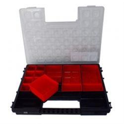 (90005) Органайзер пластиковий з рег. секціями Tandem C400 Haisser
