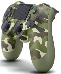 Геймпад беспроводной Sony PS4 Dualshock 4 V2 Green Cammo (9895152)