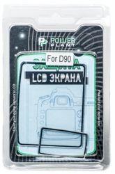 Защита экрана PowerPlant для Nikon D90 (Twin) (PLNIKD90)