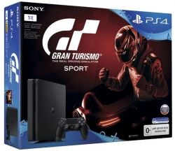 Sony PlayStation 4 1TB Slim + игра Gran Turismo