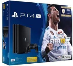 Sony Playstation 4 1TB Pro + игра FIFA 18/ PS+14Day
