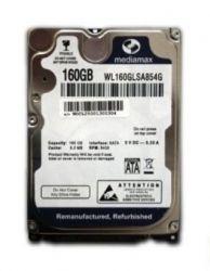 """HDD 2.5"""" SATA  160GB Mediamax 5400rpm 8MB (WL160GLSA854G)"""