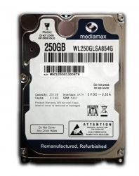 """HDD 2.5"""" SATA  250GB Mediamax 5400rpm 8MB (WL250GLSA854G) гар. 12 мес."""