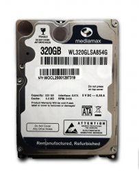 """HDD 2.5"""" SATA  320GB Mediamax 5400rpm 8MB (WL320GLSA854G) гар. 12 мес."""
