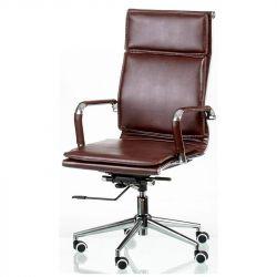 Кресло офисное Special4You Solano 4 Artleather Brown (E5227)