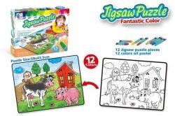 Пазл-раскраска Same Toy Ферма (2158Ut)