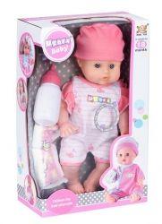 Кукла Same Toy в белом с аксессуарами и звуком (8018M2Ut)