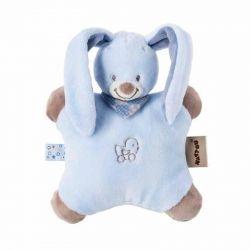 Мягкая игрушка-подушка Nattou Кролик Бибу 24см (321082)