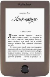 Электронная книга PocketBook 615(2) Basic Plus Dark Brown (PB615-2-X-CIS)