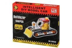 Конструктор Same Toy Inteligent DIY Model Car Бульдозер (58035Ut)