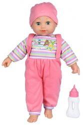 Кукла Same Toy в полосатом и со звуком (8023C4Ut)