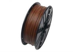Филамент пластик Gembird (3DP-ABS1.75-01-BR) для 3D-принтера, ABS, 1.75 мм, коричневый, 1кг