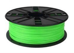 Филамент пластик Gembird (3DP-ABS1.75-01-FG) для 3D-принтера, ABS, 1.75 мм, флуоресцентный зеленый, 1кг