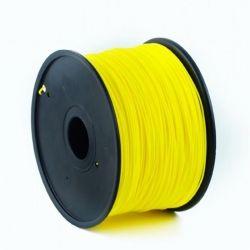 Филамент пластик Gembird (3DP-ABS1.75-01-FY) для 3D-принтера, ABS, 1.75 мм, флуоресцентный желтый, 1кг
