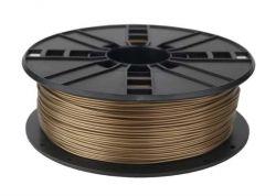 Филамент пластик Gembird (3DP-ABS1.75-01-GL) для 3D-принтера, ABS, 1.75 мм, золотистый, 1кг