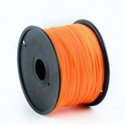 Филамент пластик Gembird (3DP-ABS1.75-01-O) для 3D-принтера, ABS, 1.75 мм, оранжевый, 1кг