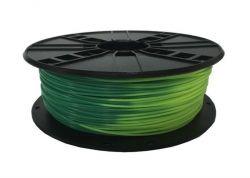 Филамент пластик Gembird (3DP-PLA1.75-01-BGYG) для 3D-принтера, PLA, 1.75 мм, сине-зеленый в желто-зеленый, 1кг