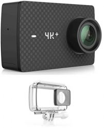 Экшн-камера Yi 4K Plus International Version Black + Waterproof Case (Z18TZ01XY)