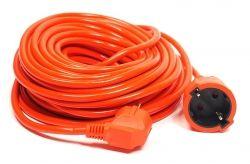 Удлинитель PowerPlant JY-3024/20 (PPCA10M200S1) 1 розетка, 20 м, оранжевый