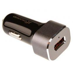 Автомобильное зарядное устройство Grand-X (1xUSB 3А) Black (CH-27)