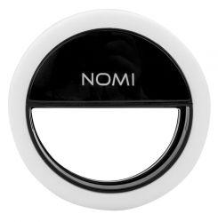 Монопод для селфи Nomi светодиодное кольцо Black (326466)