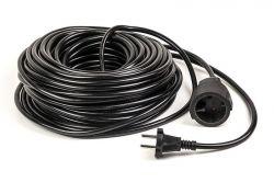 Удлинитель PowerPlant JY-3021/30 (PPEA10M300S1) 1 розетка, 30 м, черный
