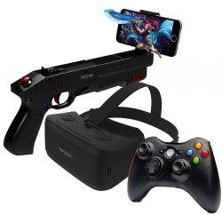 Комплект виртуальной реальности Nomi VR ALL in One Очки + Геймпад + Контроллер Gun (311082)