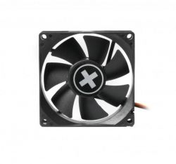 Вентилятор Xilence XPF80.W (XF034), 80х80х25мм, 3-pin+4-pin, Black