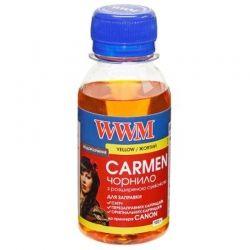 Чернила WWM Canon Universal Carmen (Yellow) (CU/Y-2) 100г