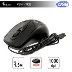 Мышь ProLogix PSM-70B Black USB