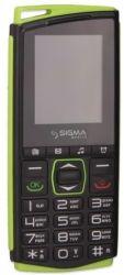 Sigma mobile Comfort 50 mini 4 Dual Sim Black/Green (4827798337431)