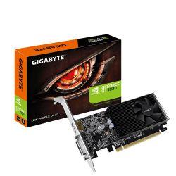 Видеокарта GeForce GT1030, Gigabyte, 2Gb DDR4, 64-bit, DVI/HDMI, 1417/2100MHz, Low Profile (GV-N1030D4-2GL)